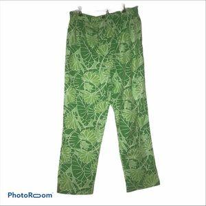 🆕 Lily Pulitzer Bright Green Pants S